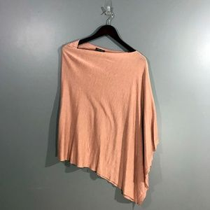 EILEEN FISHER Knit Sweater Asymmetrical Poncho Top
